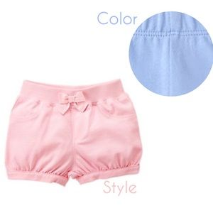 Gymboree Baby Blue Bubble Shorts 2T